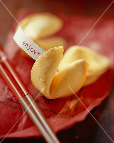 Chinese fortune cookies