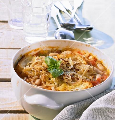Ribollita (Reheated bean soup, Italy)