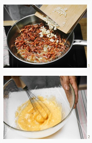 Carbonara Sauce zubereiten