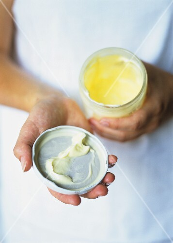 Home-made butter