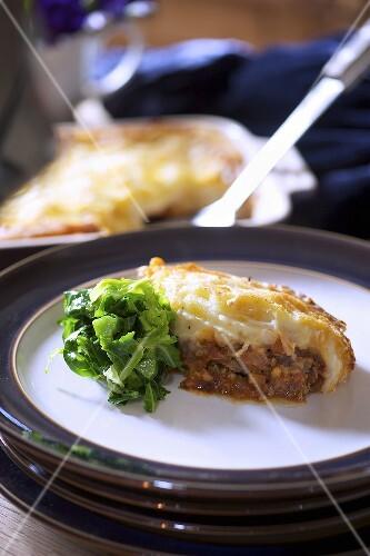 Shepherds pie on plate