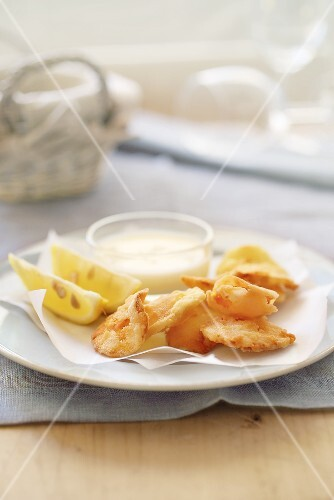 Celery and carrot chips with a buttermilk dip
