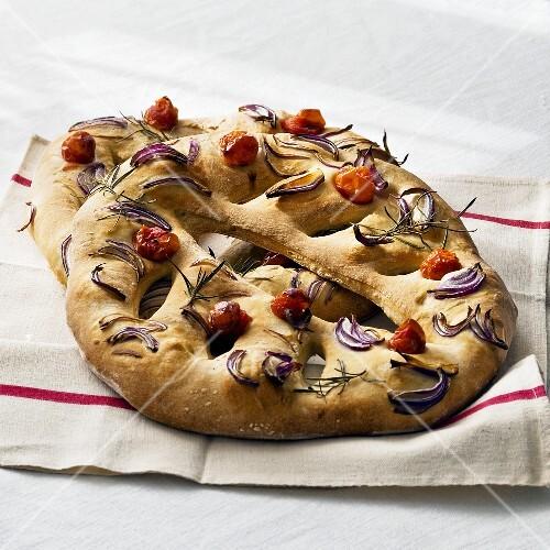 Fougasse (stuffed bread, Provence)