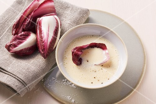French dressing with radicchio