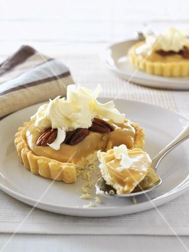 Banoffee pie (Banana and toffee pie, England)