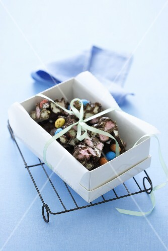 Osterei-Schokoladen-Konfekt