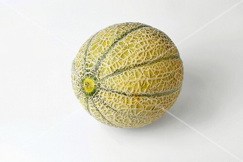 Whole netted melon