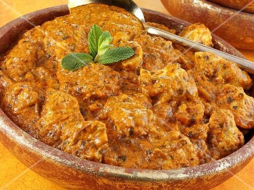 Chicken Tikka Masala (indisches Hähnchengericht)