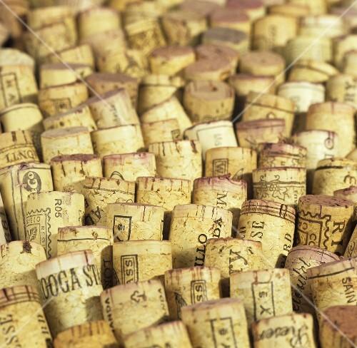 Various corks (full-frame)