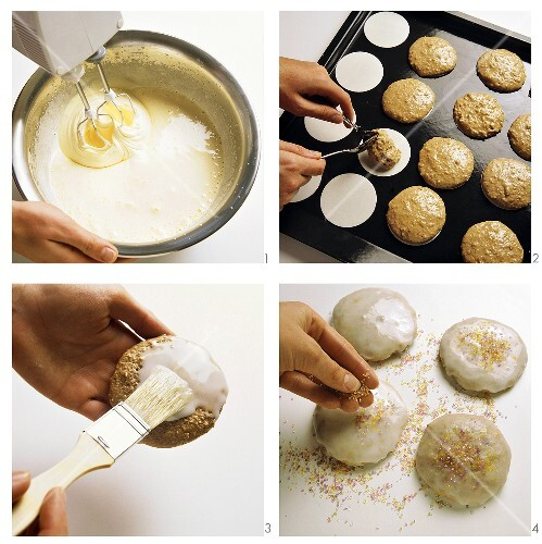 Baking Nuremberg gingerbread