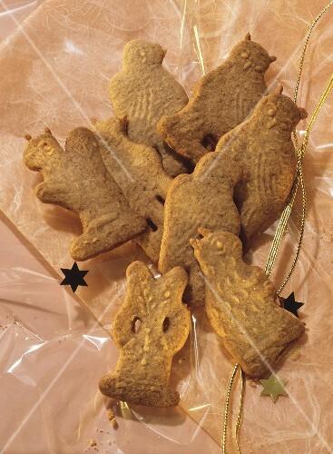 Almond Spekulatius Cookies License Images Stockfood 42351
