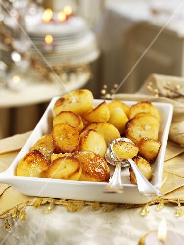 Roast potatoes for Christmas