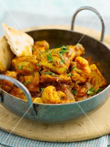 Chicken balti (chicken curry, India)