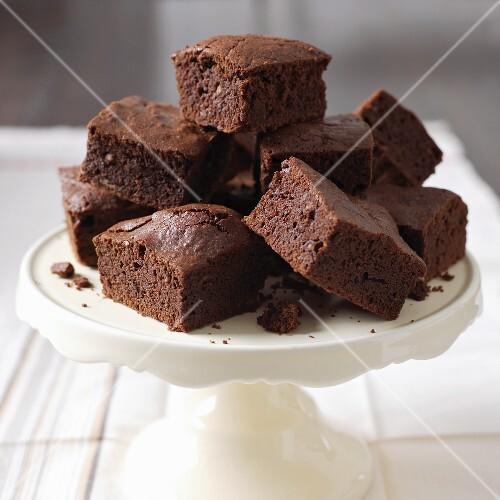 Several brownies
