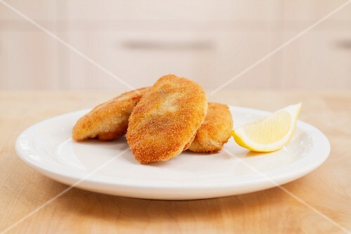 Breaded chicken breasts