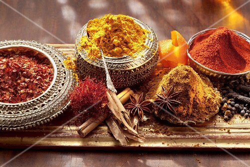 Various spices (Arabia)