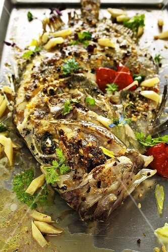 John Dory with nut butter