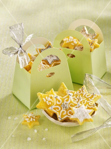 Butter biscuits as a gift
