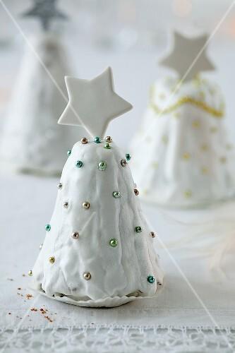 Weihnachtskuchen (Tannen)