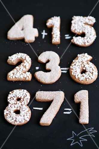 Gingerbread numbers