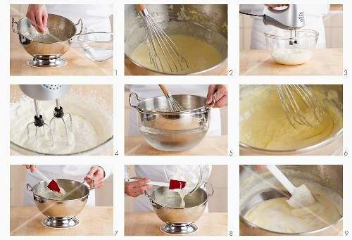 Bayerische Creme zubereiten