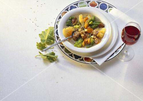 Pichelsteiner Vegetable Stew