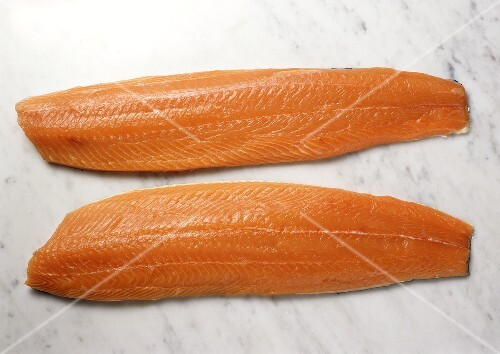 Two Salmon Fillets