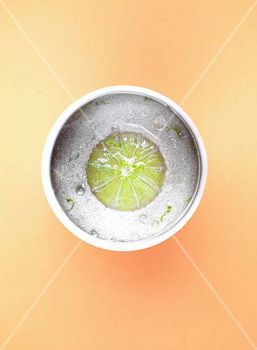 Lime in a bowl