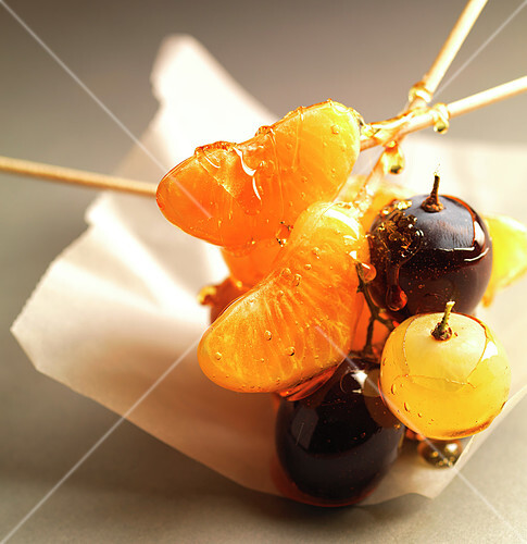 Caramelized fruit