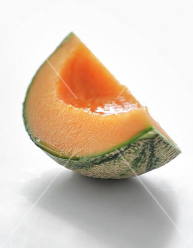 Quarter of a melon without pips