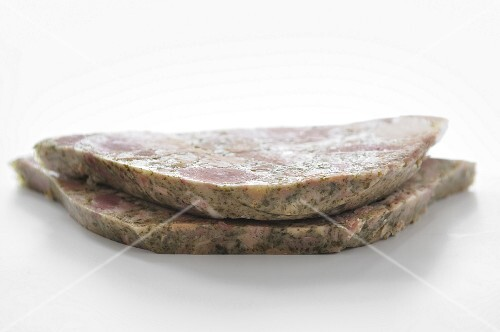Slices of Jambon persillé de Bourgogne