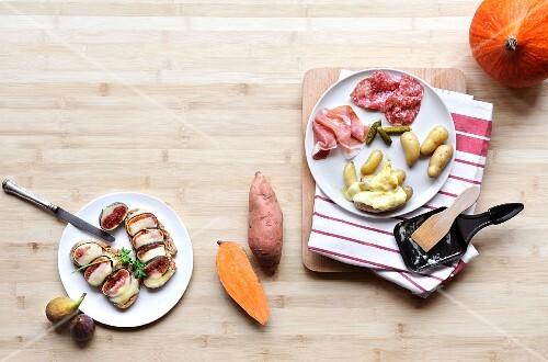 Raclette atmosphere