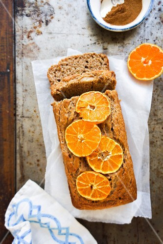 Clementine bread loaf