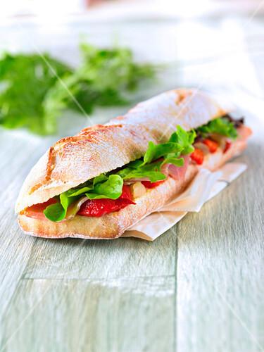 Malaga sandwich