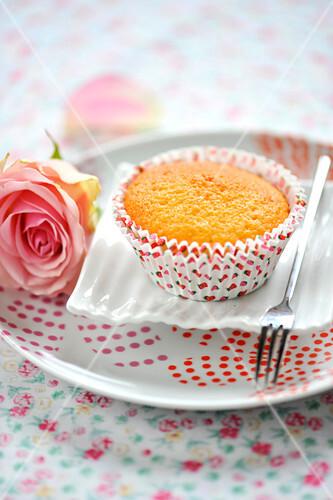 Orange blossom muffin