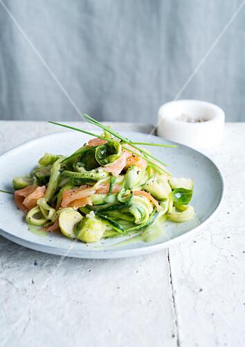 Zucchini salmon