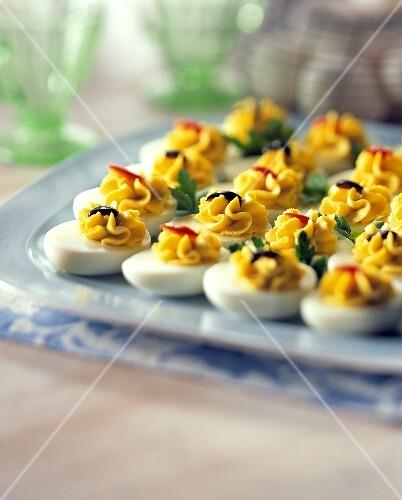 Deviled Egg Party Platter