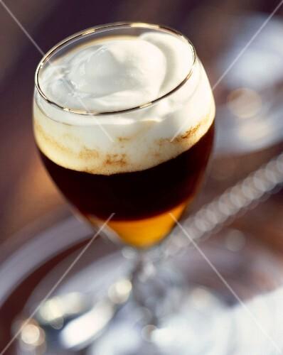 Irish coffee Saint Patrick
