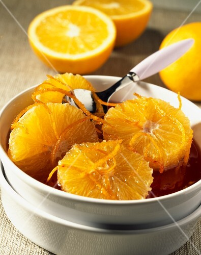 Oranges,oriental-style (topic :cooking today)