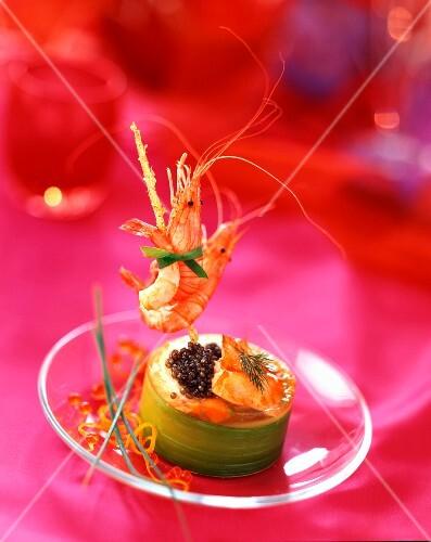 party prawn appetizer