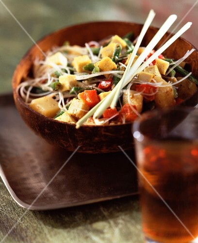 Sayur kari vegetables in a spicy sauce