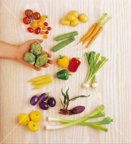 Dwarf vegetables