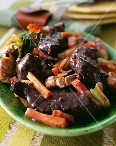 Daube Provencale (Provençal-style beef ragout)