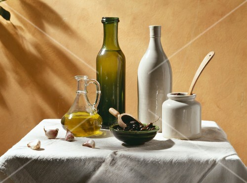 Composition of olive oil