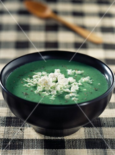 spinach and feta soup