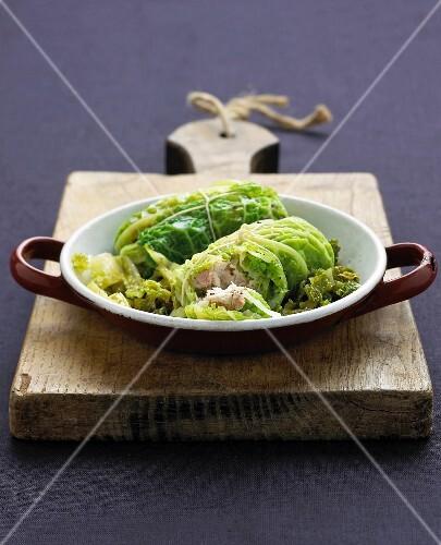 Cabbage paupiettes