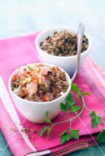 tuna crumble