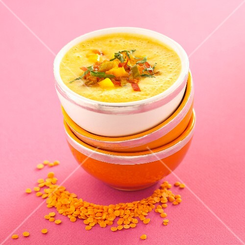 Sweet and sour Indian soup