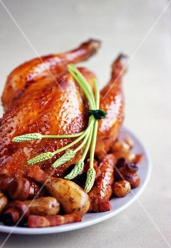 Grandma's roast chicken