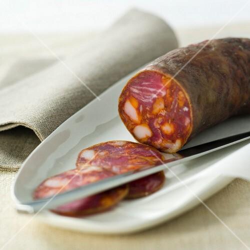 Chorizo (Spanish pepper sausage)